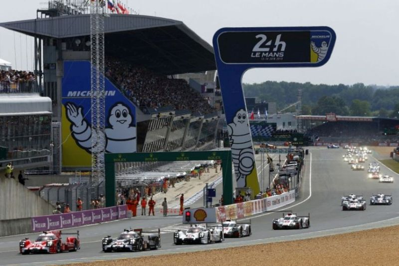 24 hours of Le Mans, Circuit de la Sarthe, 2015 start