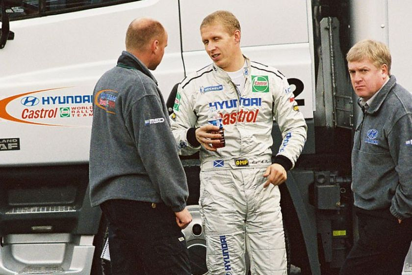 Alister McRae, Hyundai, 2000