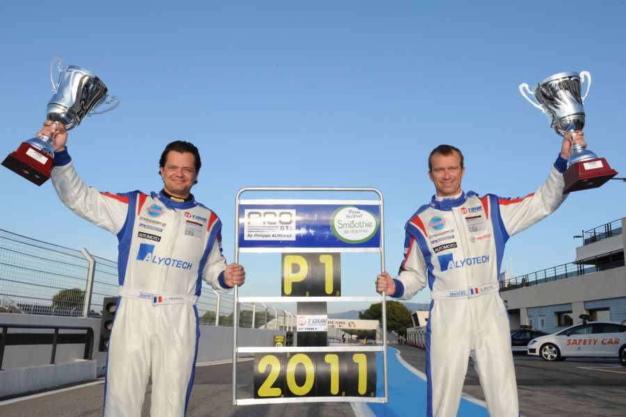 Laurent Pasquali and Anthony Beltoise - 2011 French GT champions