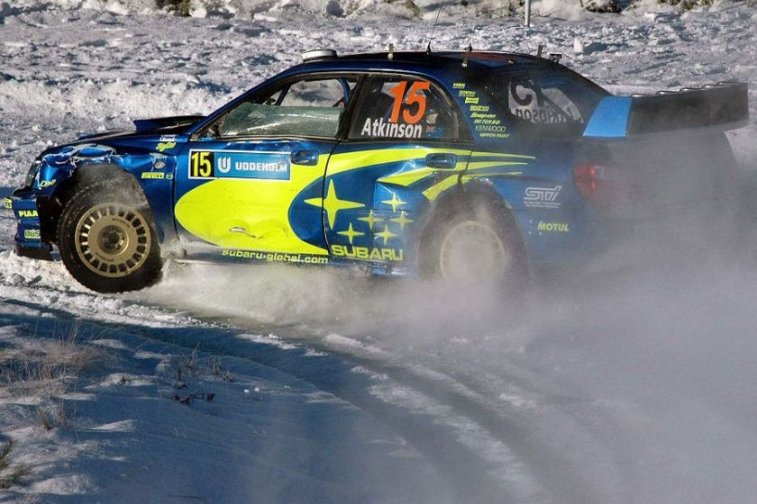 Chris Atkinson joined Subaru World Rally Team in 2005