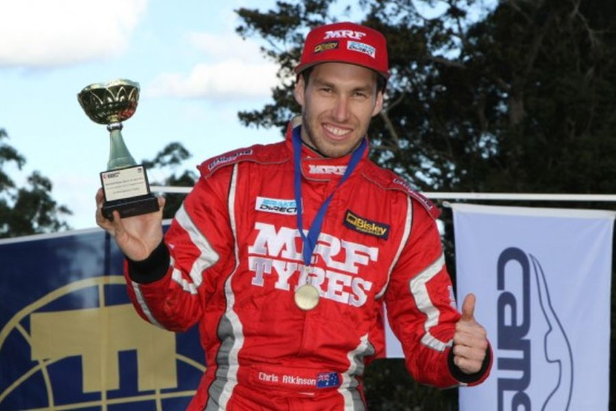 Chris Atkinson - 2012 APRC champion