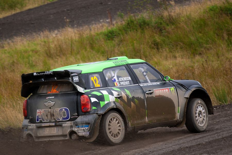 In 2012, Atko recorded five WRC starts in a Mini