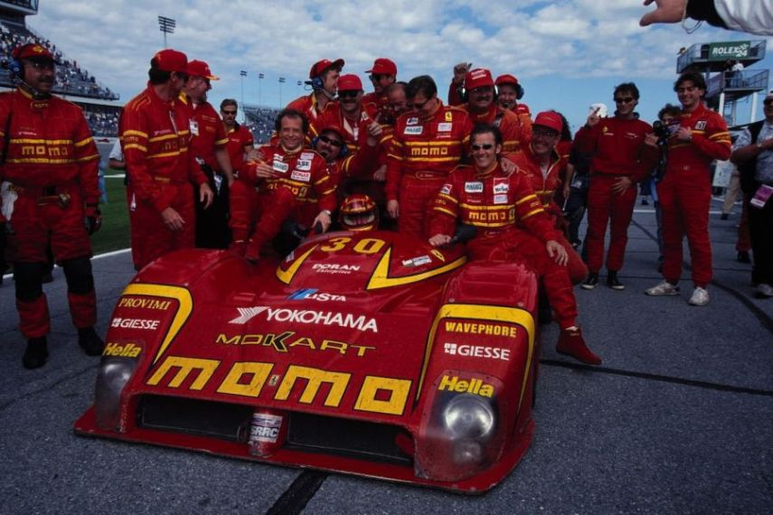 Didier Theys was among 1998 Daytona 24h winners in the #30 Ferrari 333 SP