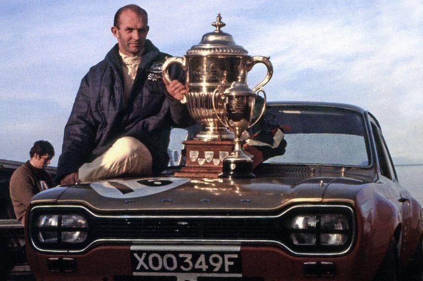 Frank Gardner, Alan Mann Racing Ford BTCC