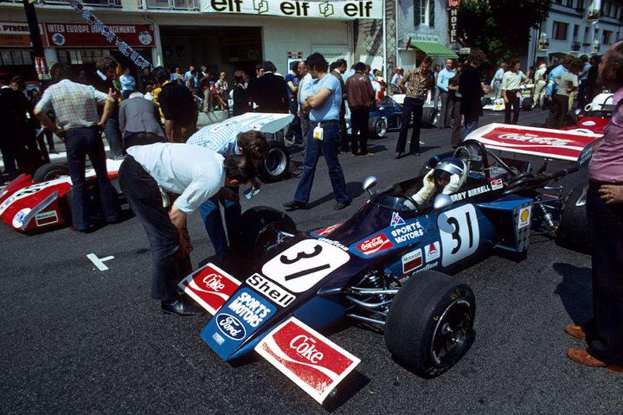 Gerry Birrell in a March F2 car