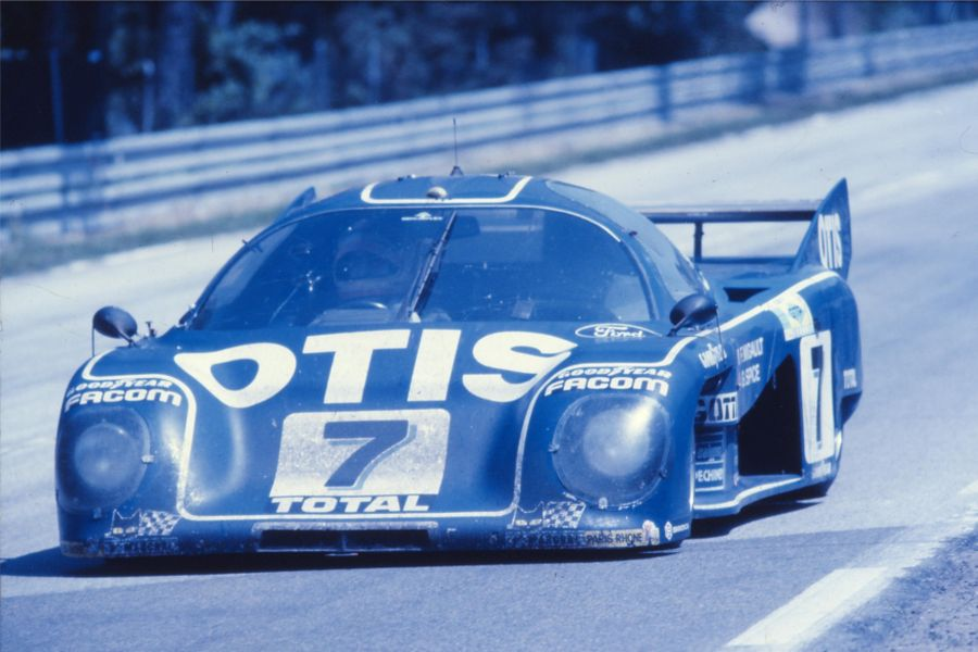 Gordon Spice finished third at 1981 Le Mans 24h in the #7 Rondeau M379C