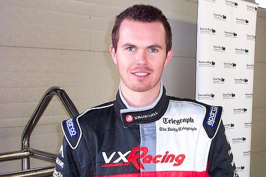 James Thompson, BTCC, VX Racing Vauxhall
