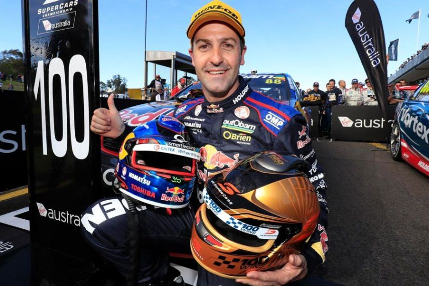 Jamie Whincup's 100th V8 Supercars victory
