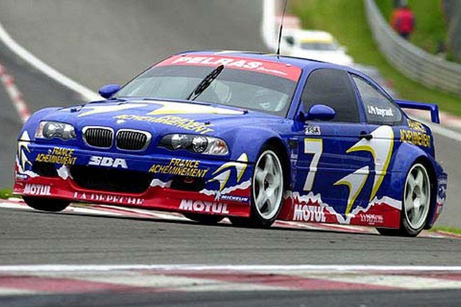 Jean-Philippe Dayraut's championship-winning BMW M3 in 2001