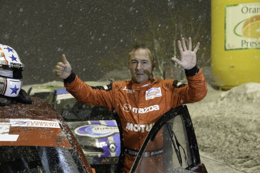 Jean-Philippe Dayraut took his sixth Trophee Andros title in 2015