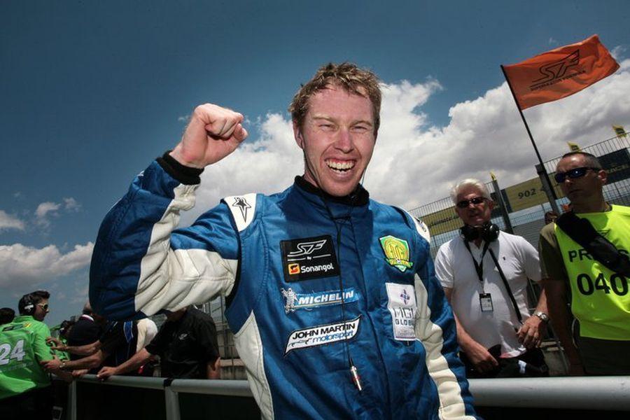 John Martin was the Superleague Formula champion in 2011