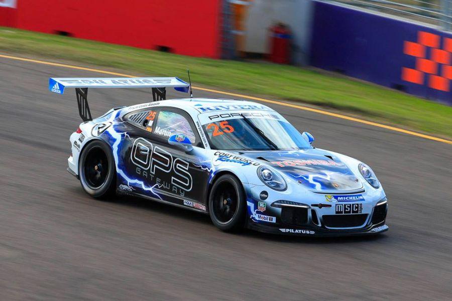 John Martin's Porsche in 2015