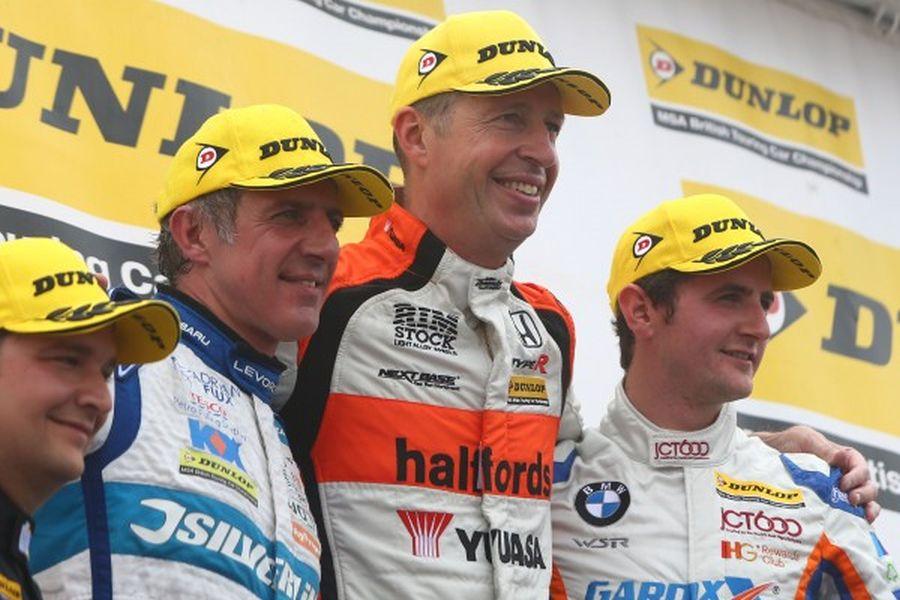 BTCC Knockhill race 2 podium