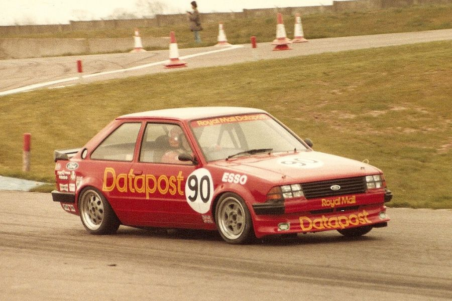 Richard Longman in a Ford Escort RS 1600