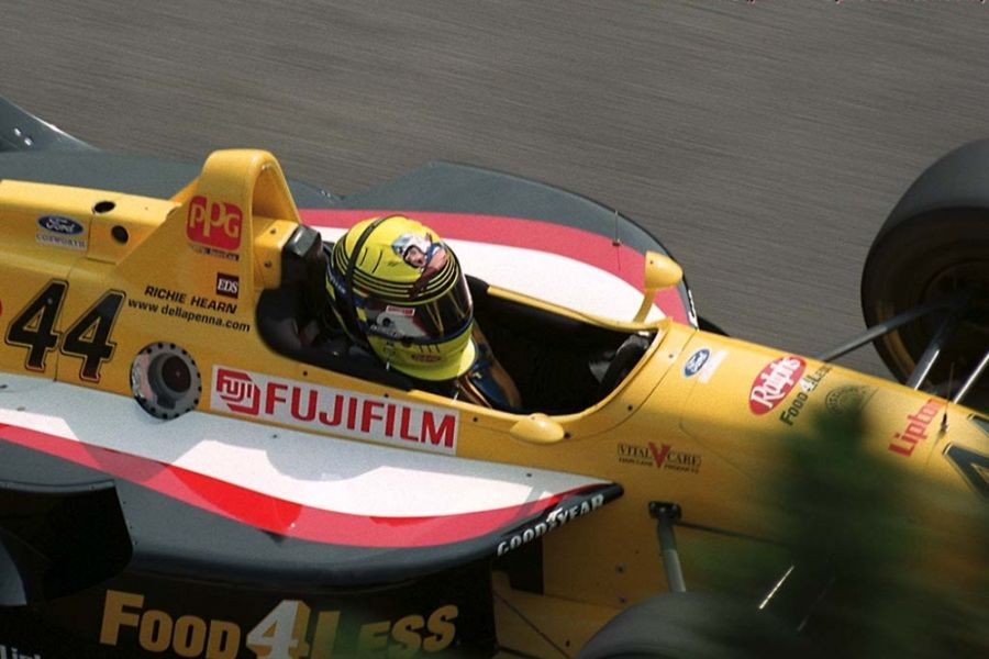 Richie Hearn started his Indy Car career with Della Penna Motorsports