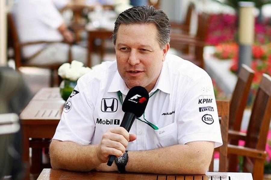 Zak Brown is leading McLaren Technology Group