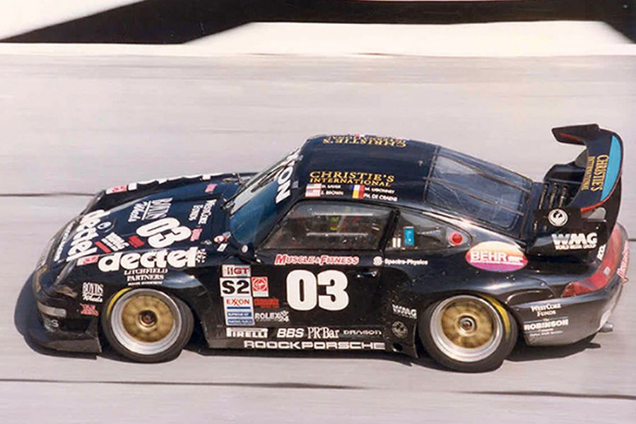 Zak Brown scored Daytona and Sebring podiums in the #03 Roock Racing Porsche