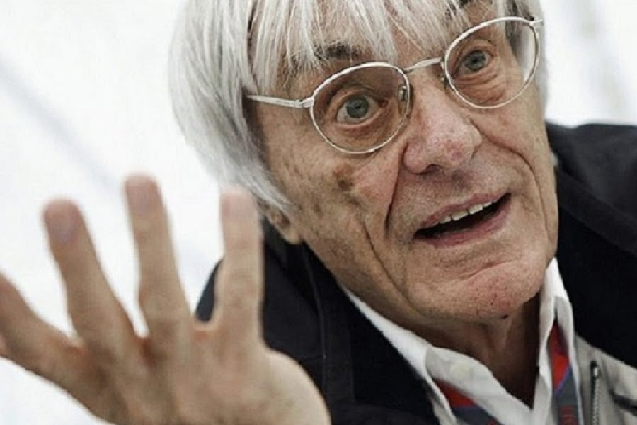 Bernie Ecclestone, CEO and President of Formula One Management