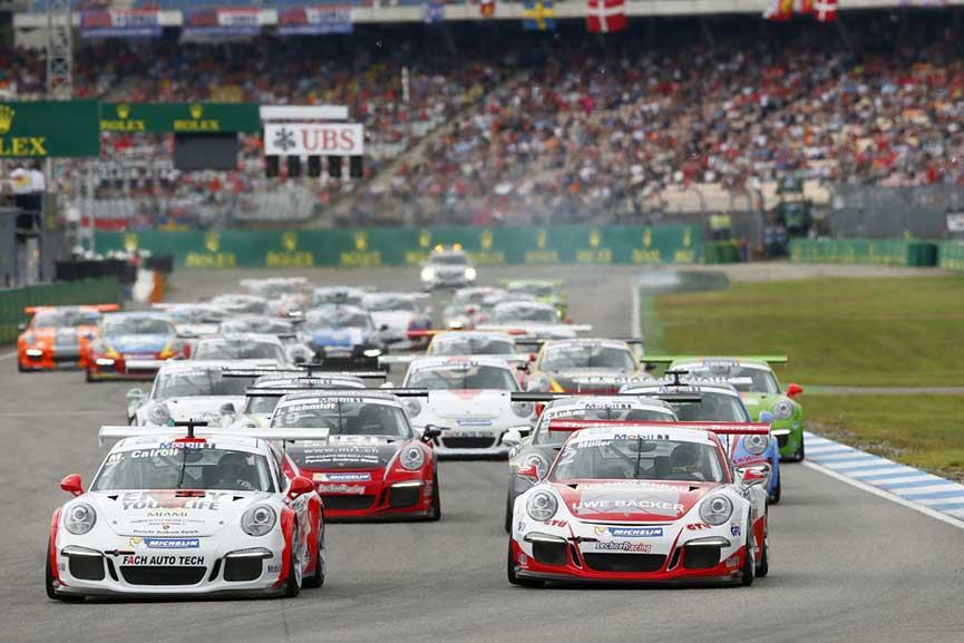 Porsche Supercup race