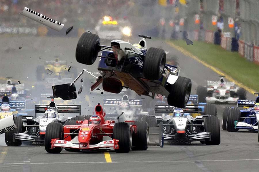 Formula One Crash