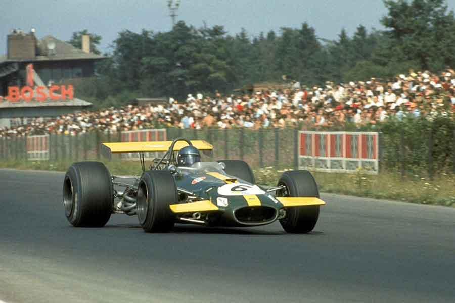 Jacky Ickx Brabham