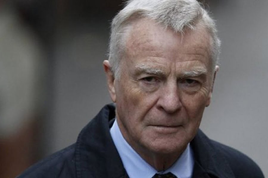 Max Mosley, fromer FIA president