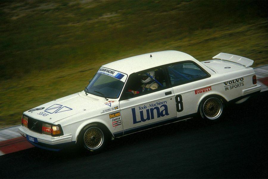 Anders Olofsson, Volvo 240 Turbo