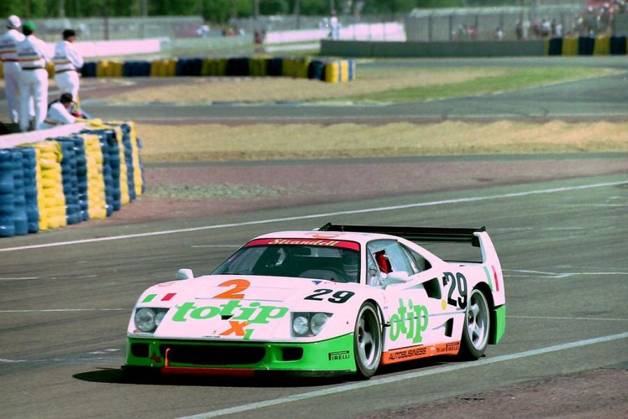 Anders Olofsson raced a lot in a Ferrari F40