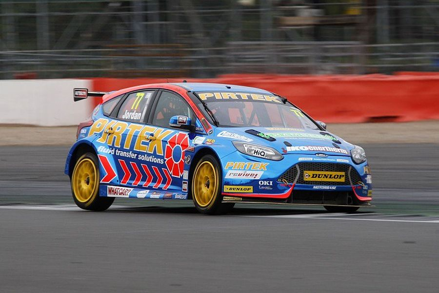 Andrew Jordan wins Race 2 at Silverstone