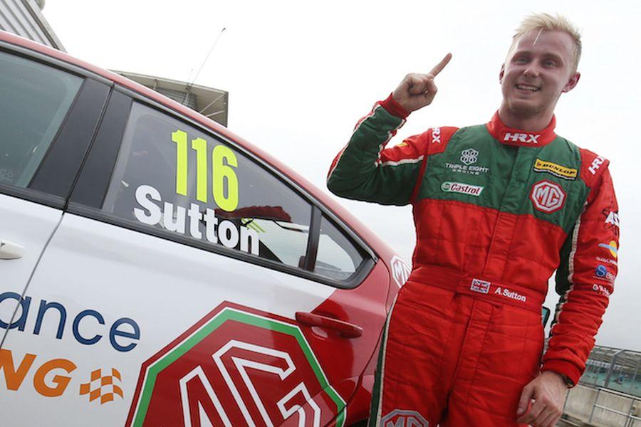 BTCC, Silverstone, Ashley Sutton