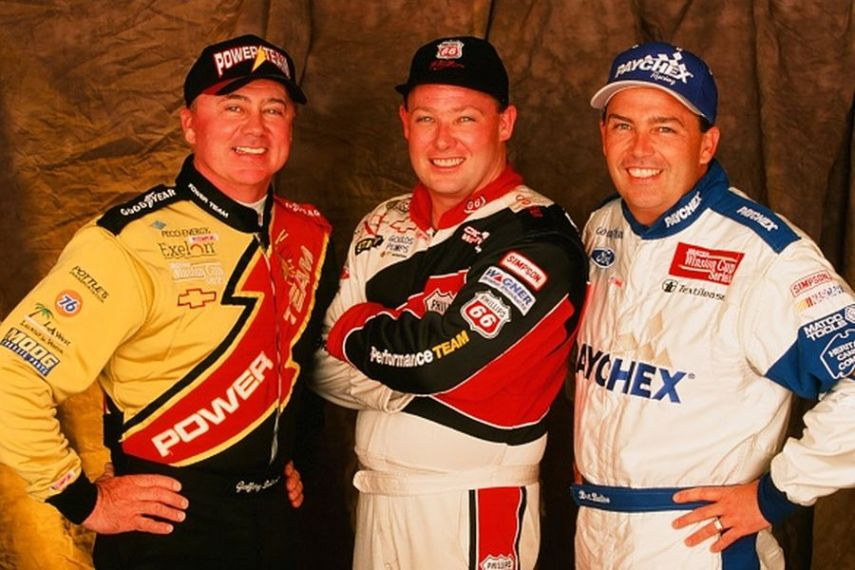 Bodine brothers: Geoff, Todd and Brett, 1999