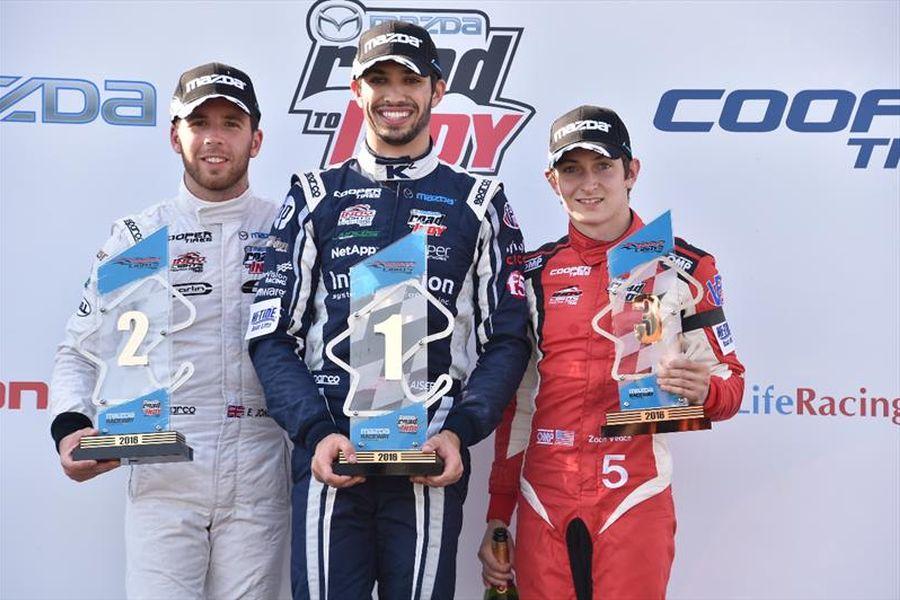 Indy Lights finale Laguna Seca