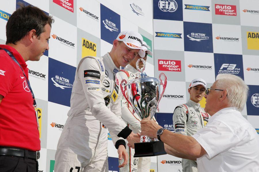 Max Gunther, F3 Nurburgring