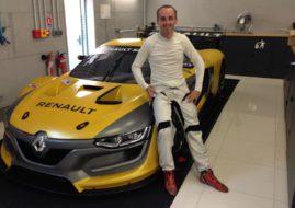 Robert Kubica, Renault RS01, Renault Sport Trophy