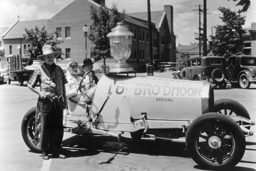 Spencer Penrose, Penrose Trophy, Pikes Peak, black and white