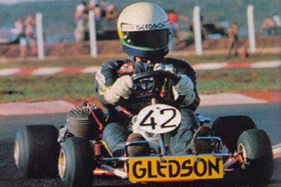 Ayrton Senna, karting