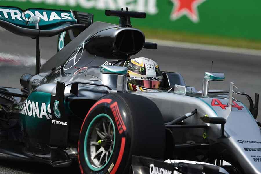 Lewis Hamilton Mercedes Monza
