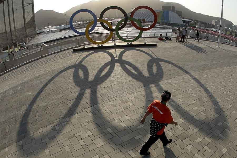 Olympic rings Formula