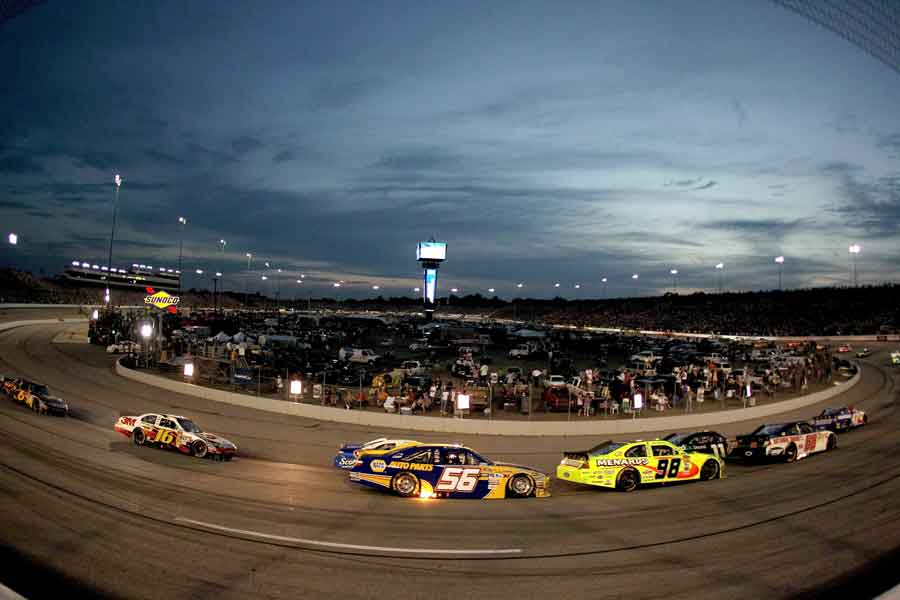 Night race at RIR, 2010