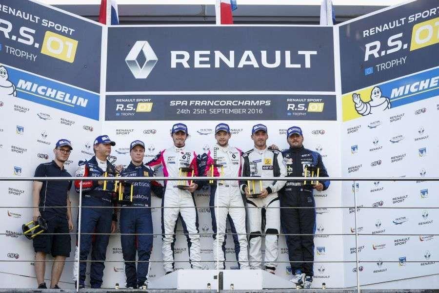 Renault Sport Trophy, Spa, Endurance race, podium