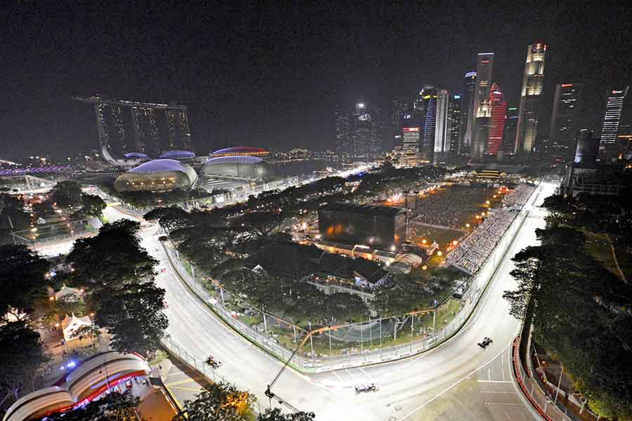 Street Circuit formula Singapore 2016 Fernando Alonso 2015 september lap world season tickets 2008