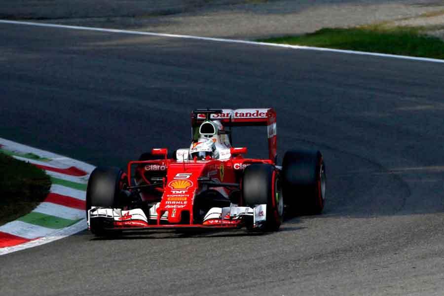 Sebastian Fettel Italian Grand Prix