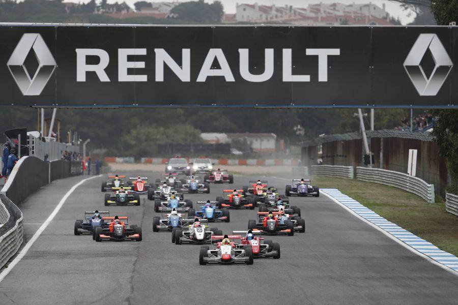 Formula Renault 2.0 Eurocup, Estoril race start