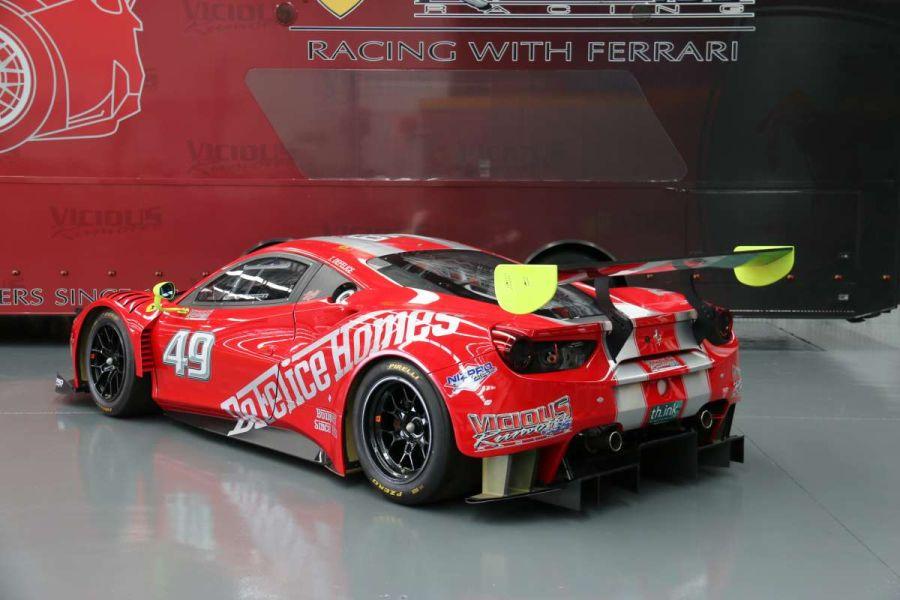 Ferrari 488 GT3 in the Australian GT Championship