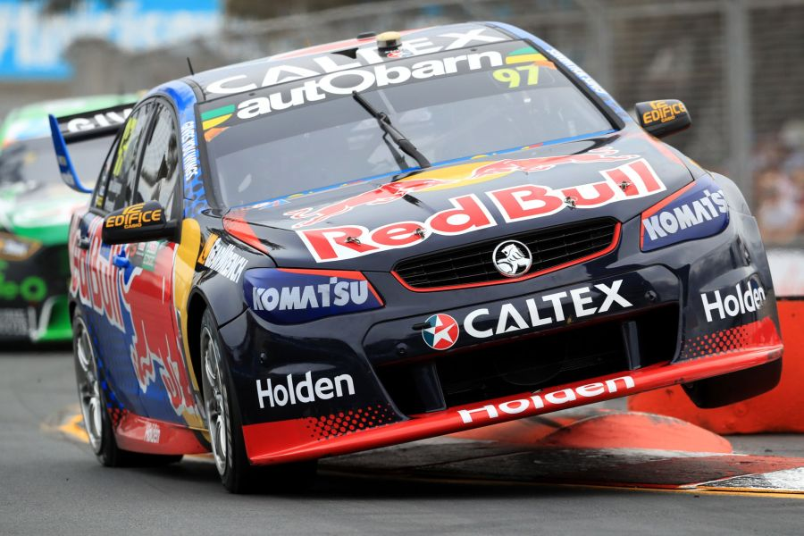 Gold Coast 600, #97 Red Bull Holden, Van Gisbergen, Premat