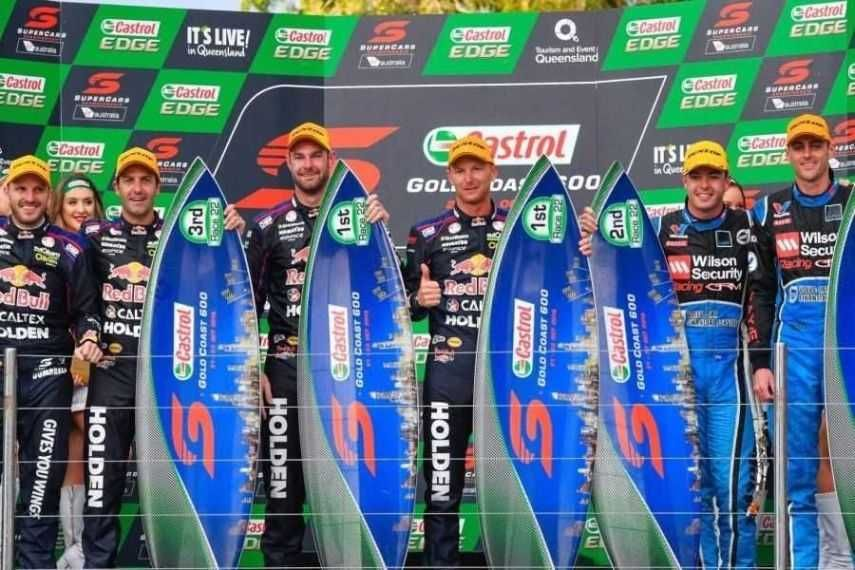 Gold Coast 600 podium
