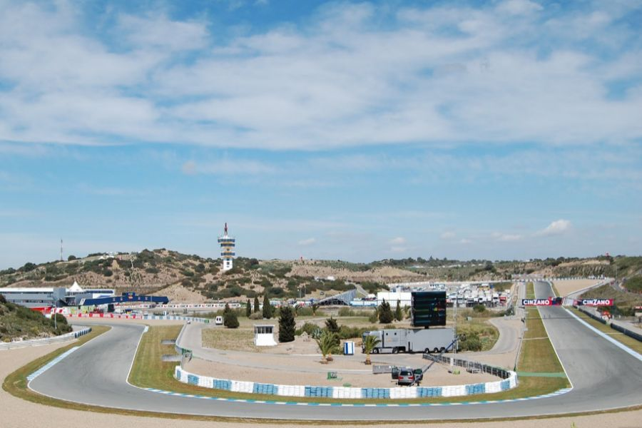 Jerez Circuit race track road course Jerez de la Frontera Spain