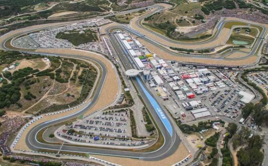 Jerez Circuit 1986 2016, road course race track Jerez de la Frontera Spain
