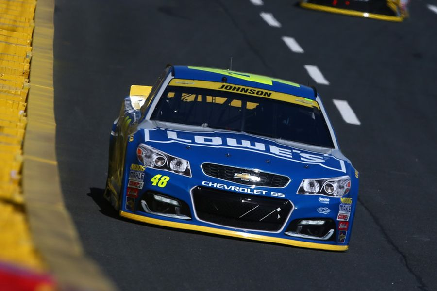 Jimmie Johnson, Bank of America 500, Charlotte