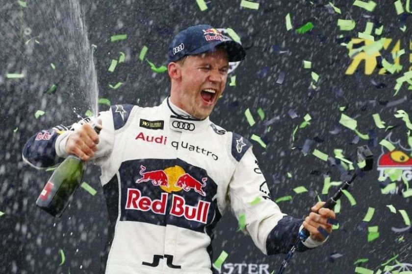 Mattias Ekstrom, 2016 World RX champion